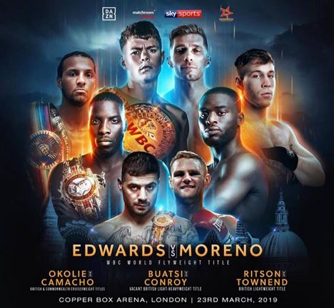 Charlie Edwards vs Angel Moreno, Joshua Buatsi, Lawrence Okolie, Jason Quigley Live Stream on DAZN/SKY Sports