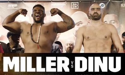 Miller vs Dinu, Claressa Shields vs Hannah Rankin, Rios vs Alvarez, Rosado vs Arias live stream on DAZN
