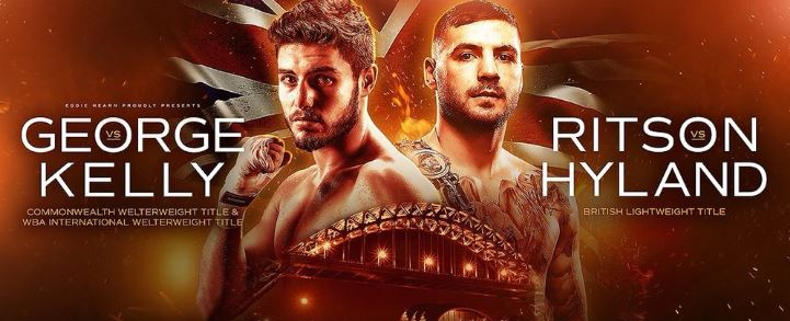 Josh Kelly vs Kris George and Ritson vs Hyland Live on Sky Sports