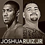 Anthony Joshua Andy Ruiz weigh in