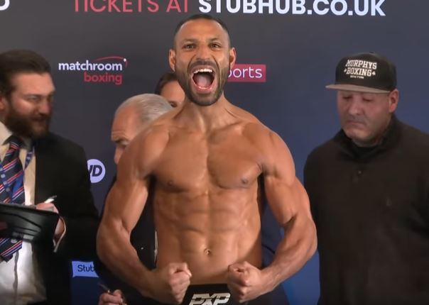 Kell Brook back in the groove with DeLuca KO