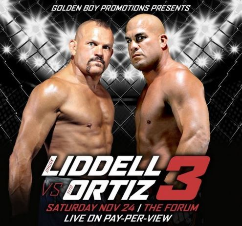 Tito Ortiz crushes Chuck Liddell in first round knockout, video