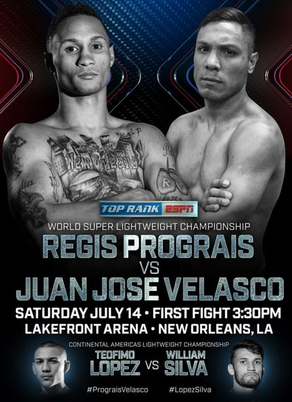 Regis Prograis vs Juan Jose Velasco, Teofimo Lopez vs William Silva LIVE on ESPN