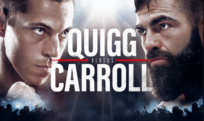 Dominant Carroll stops Quigg in the 11th