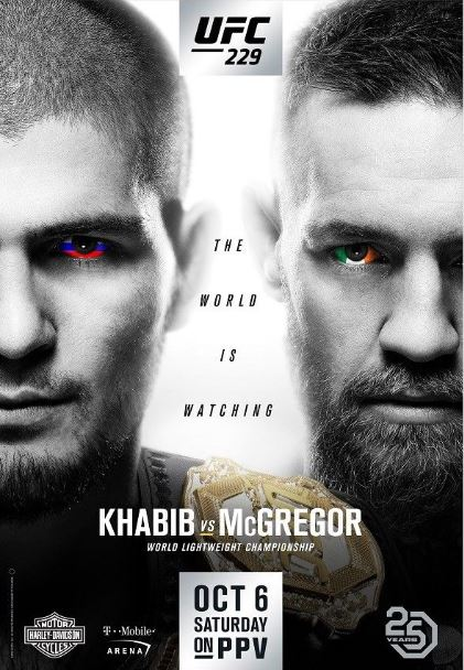 UFC 229: Khabib Nurmagomedov vs Conor McGregor LIVE Stream on YouTube