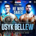 Oleksandr Usyk Tony Bellew fight poster