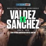 Oscar Valdez Jason Sanchez Poster