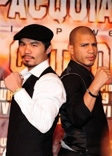 Cotto has voiced his opinion about Pac's refusal to take the drug test