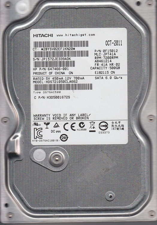 Hitachi Desktop Hard Drive Data Recovery Services