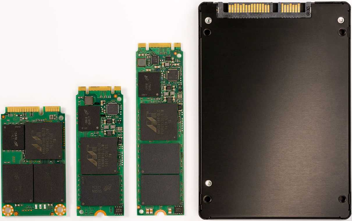 SSD Types and data recovery
