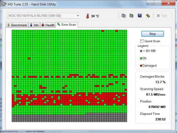 Soft Bad Sector data recovery