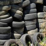 Small Tyres Accepted at Landfill