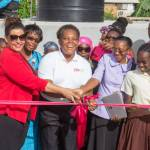 Grenada School for Special Education Receives 20,000 Gallon Tank