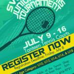 Swee' Drink Junior Tennis Tournament 2016
