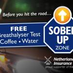 Netherlands Insurance 'Sober Up Zone' at New Year's Eve Celebrations