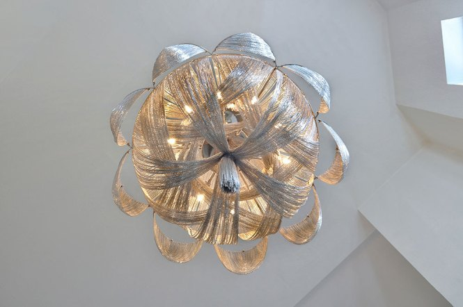 Maxim Lighting Chantilly 12 Light Chandelier In Polished Nickel