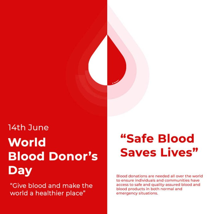 Blood Donor Day Post by NowNext