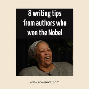 Writing tips from authors who won the Nobel
