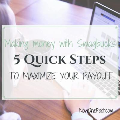 Making Money with Swagbucks – 5 Quick Steps
