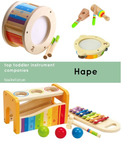 Top Toddler Instruments - Hape - Now One Foot