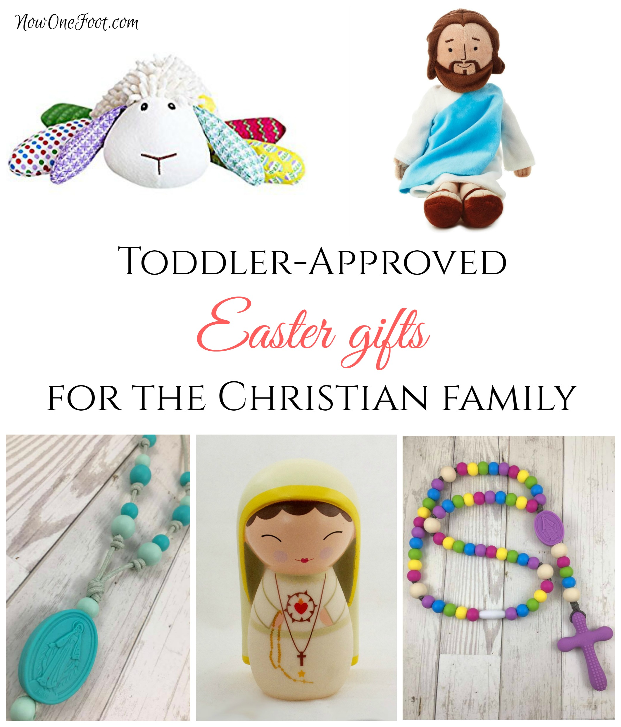 Toddler approved easter basket gifts now one foot negle Images