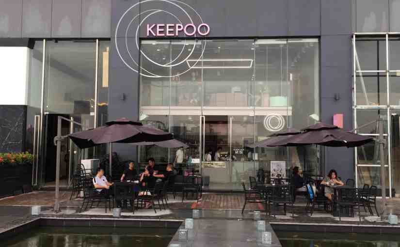 Keepoo Cafe cupcake specialist in Xiamihu 1979 mall