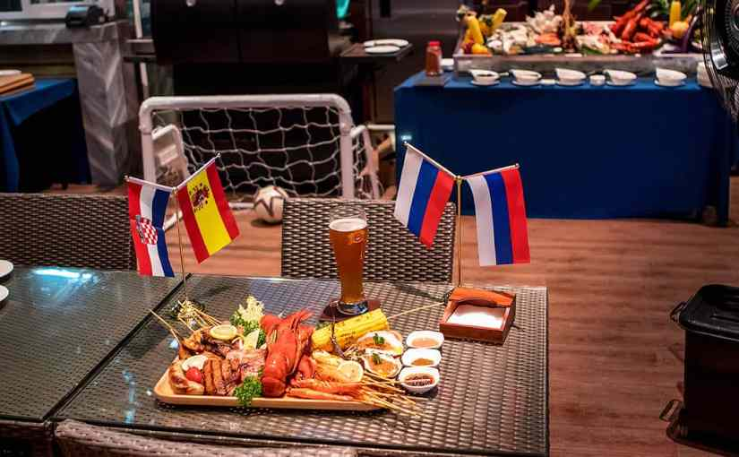 Unlimited World Cup BBQ & Beer at the Wyndham Grand