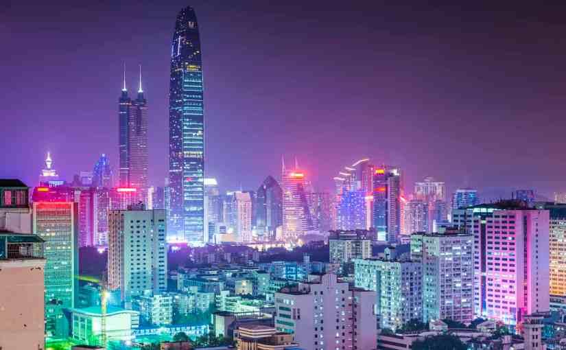Shenzhen's 40th Anniversary Light Show