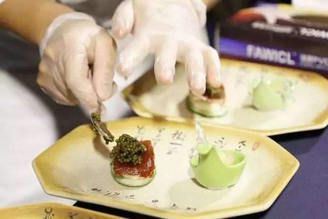 Kaluga Queen Caviar Tasting in Shenzhen, redefining a lavish