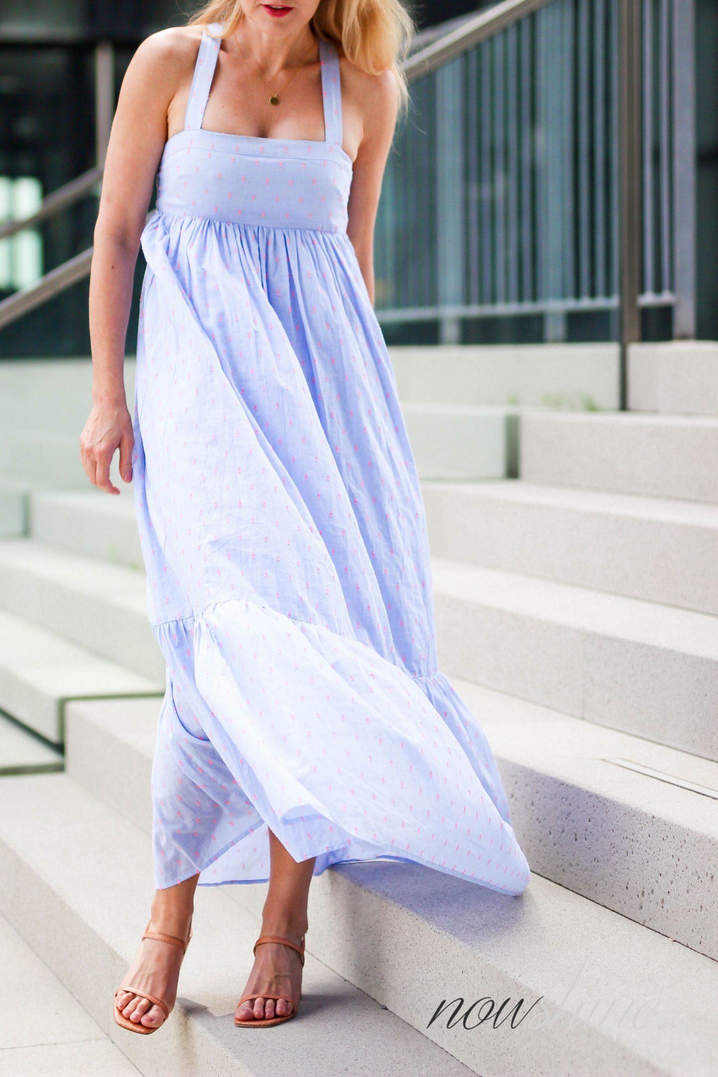 Feminine Maxikleider für den Sommer - Nowshine im Maxikleid von H&M