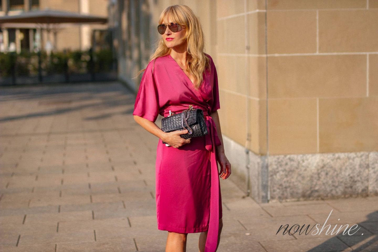 Pinkes Wrap Dress Wickelkleid - Edited - Nowshine ü 40 Blog