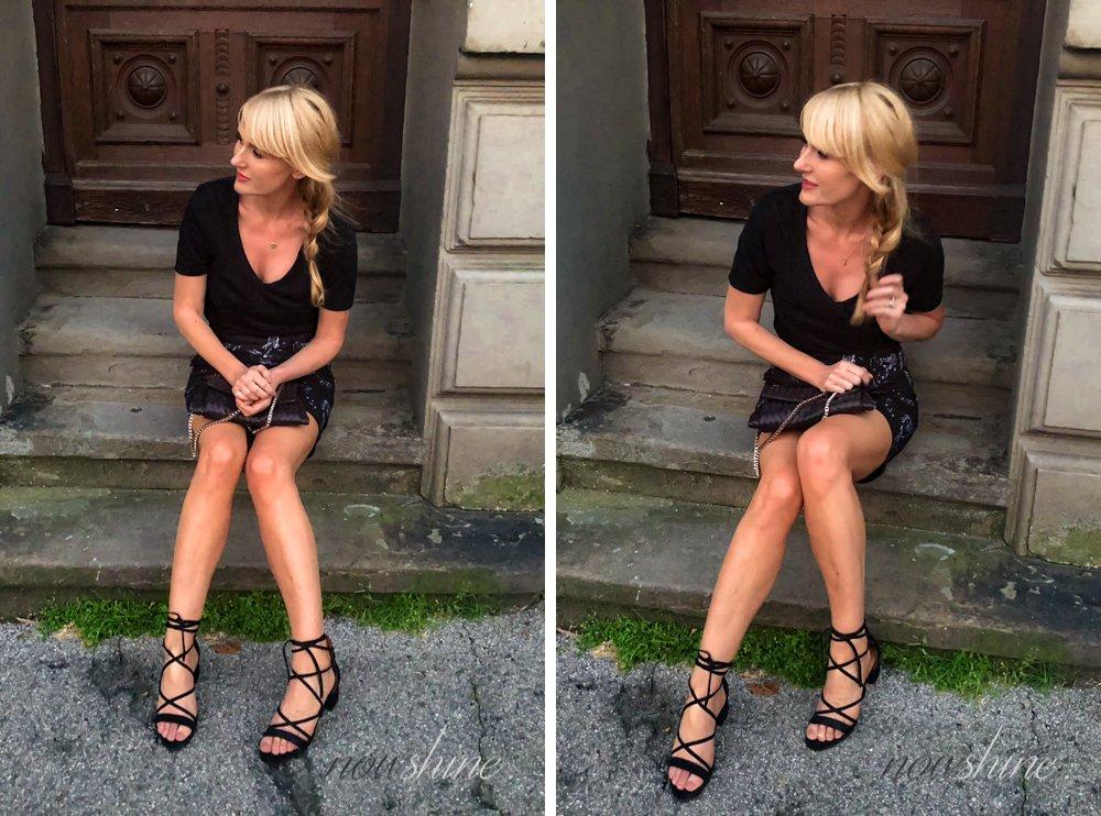 Lace up Sandalen von & Other Stories - Rock Edited - Nowshine ü 40 Fashion, Beauty und Reiseblog