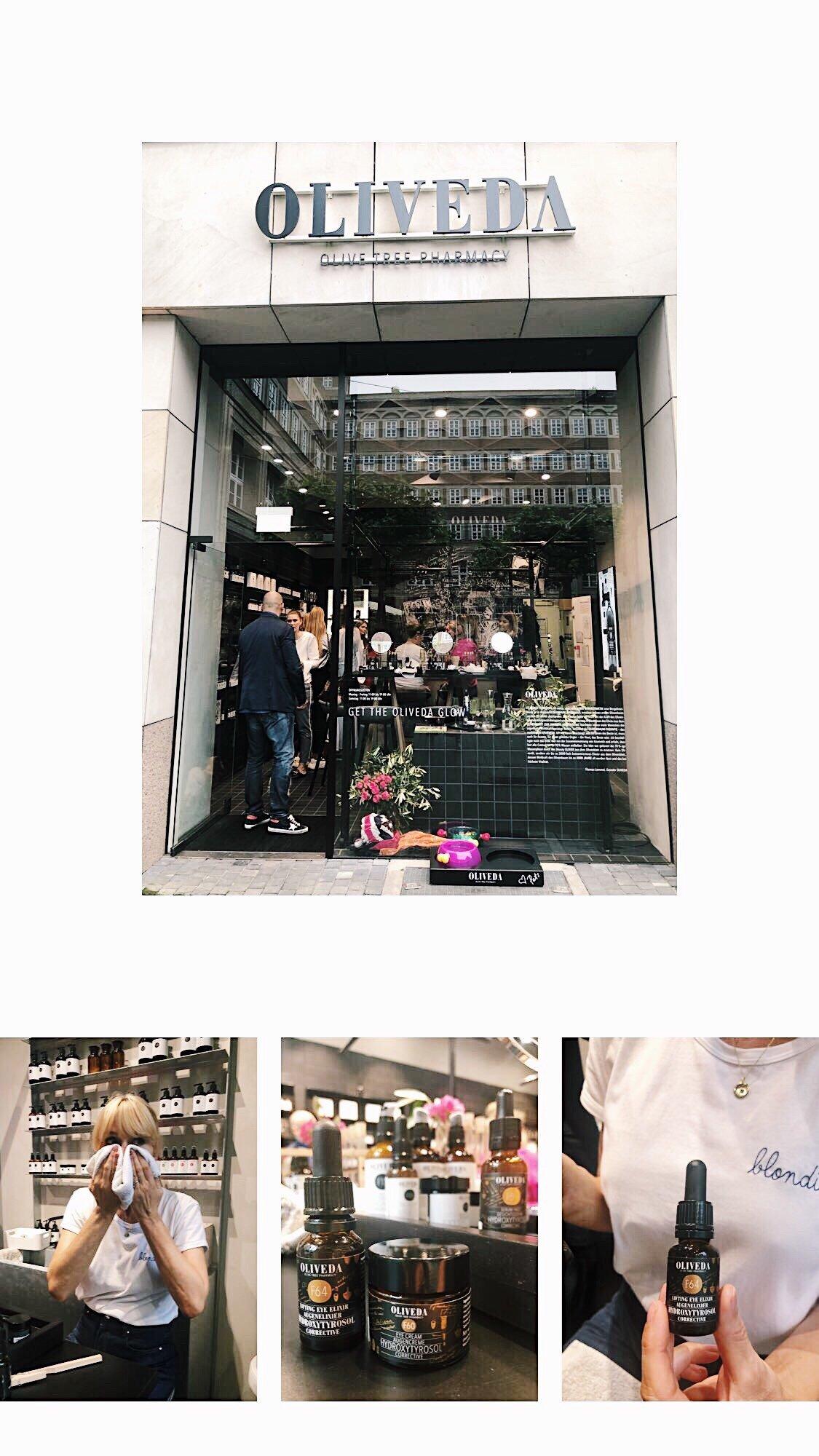 Nowshine beim Oliveda Glow Workshop in Düsseldorf - Oliveda Rabattcode von 15% - ü40 Beautyblog