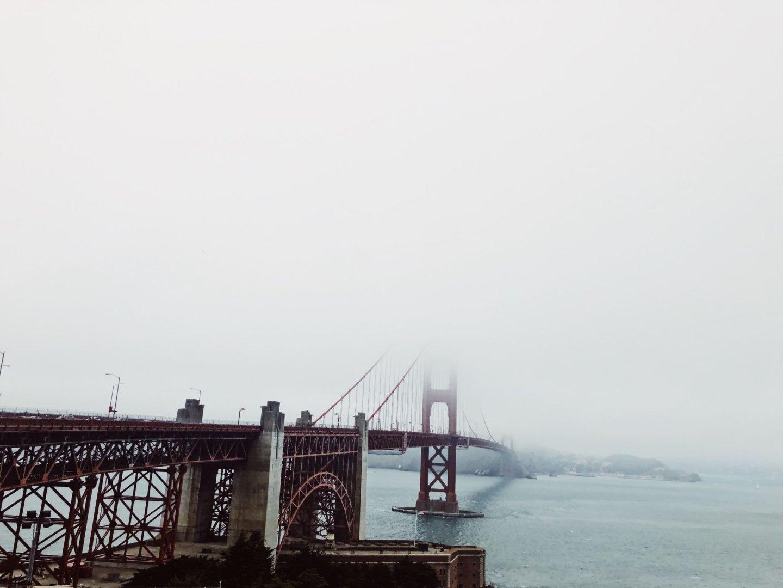 Die Marina/ Chestnut Street Gegend in San Francisco - Nowshine ü40 Reiseblog - Golden Gate Bridge