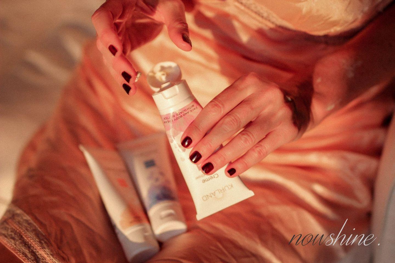 Trockene Haut nach dem Urlaub - Creme für Gesicht und Körper mit Ziegenbutter von Kurland Beauty ü 40 Nowshine