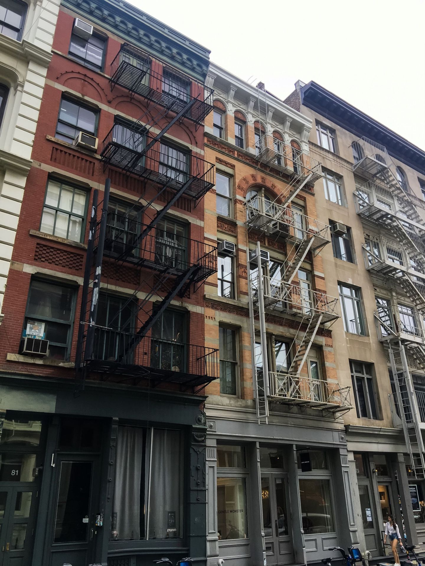 4 Tage in New York City - Häuser in SoHo - Nowshine Reiseblog ü 40