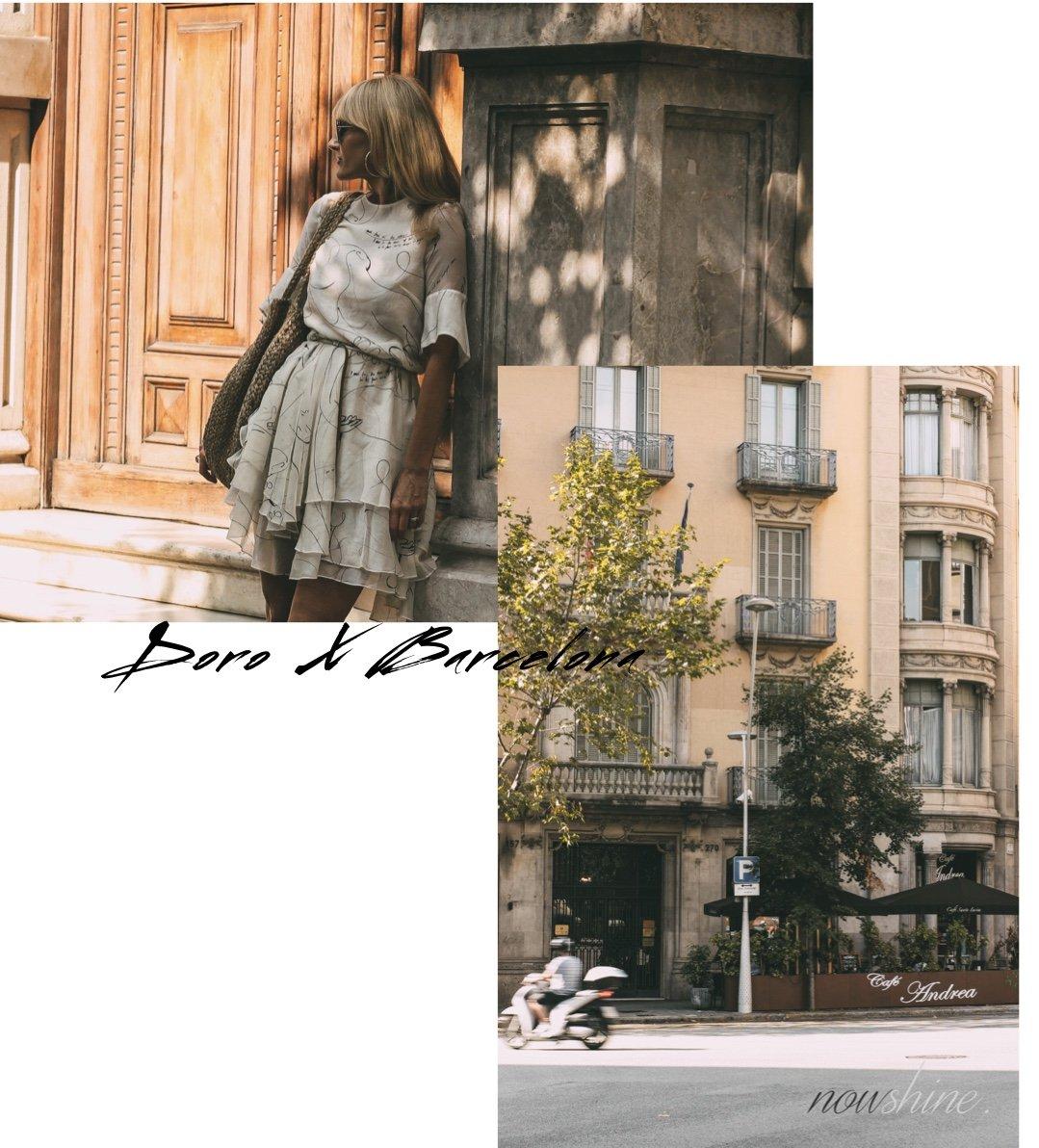 Kurztrip nach Barcelona - Nowshine Reisetipps - Kleid H&M