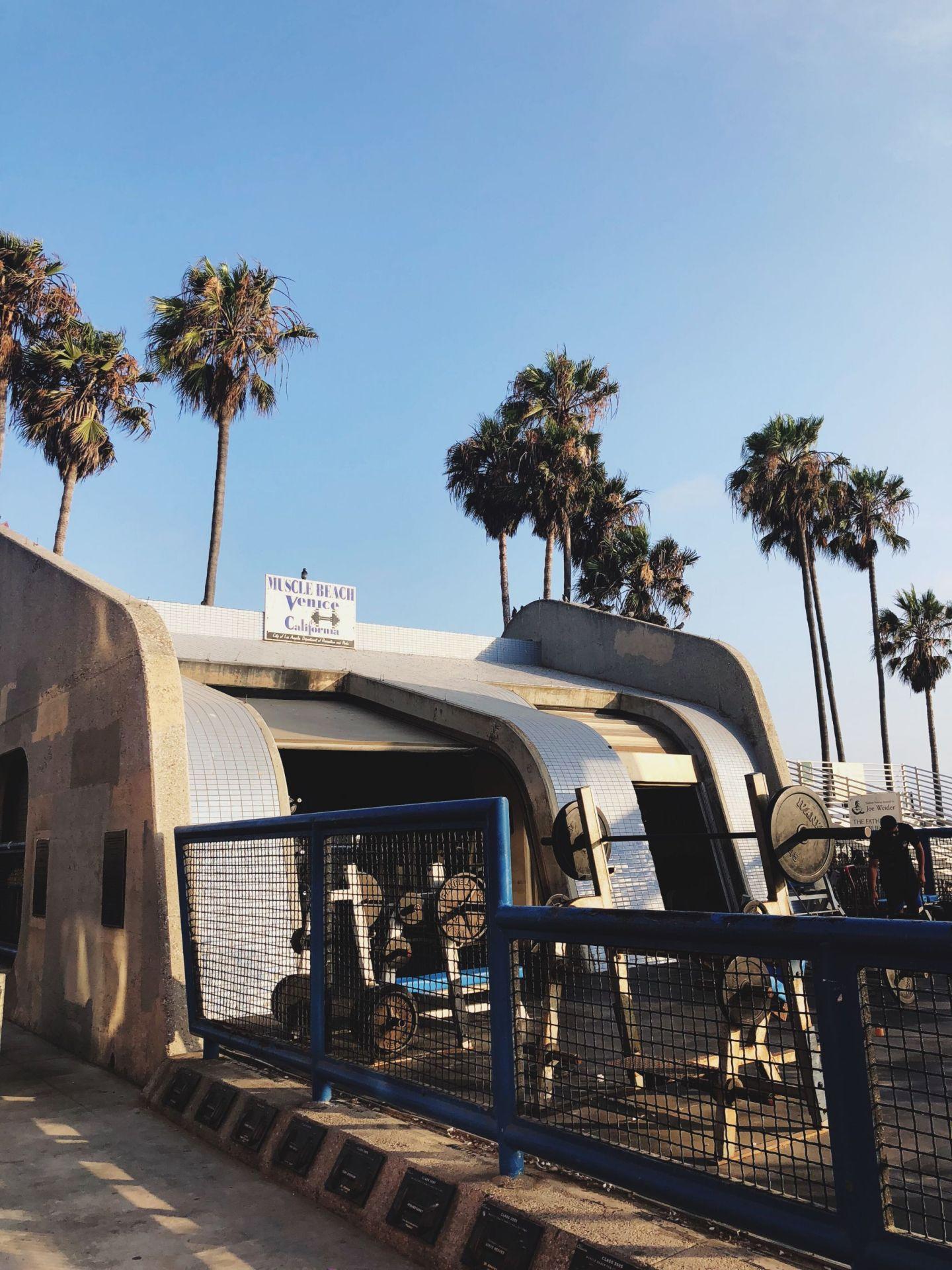 Los Angeles Tipps und Empfehlungen - Muscle Beach Venice - Reiseblog ü 40