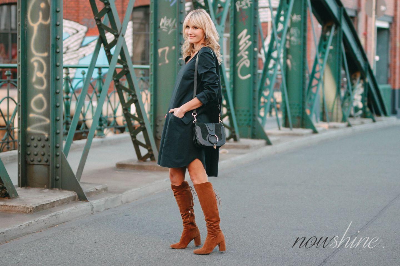 40 Sprachnachrichten und ein Kleid von COS - Nowshine ü40 Modeblog