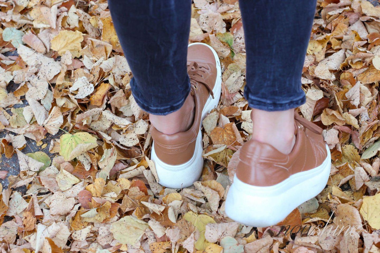 Sneaker von Uterque - Nowshine Fashion Blog ü 40