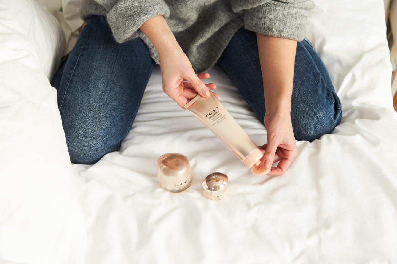 Shiseido Benefiance Erfahrungen Extra Creamy Cleansing Foam - Nowshine Beauty Blog ü40