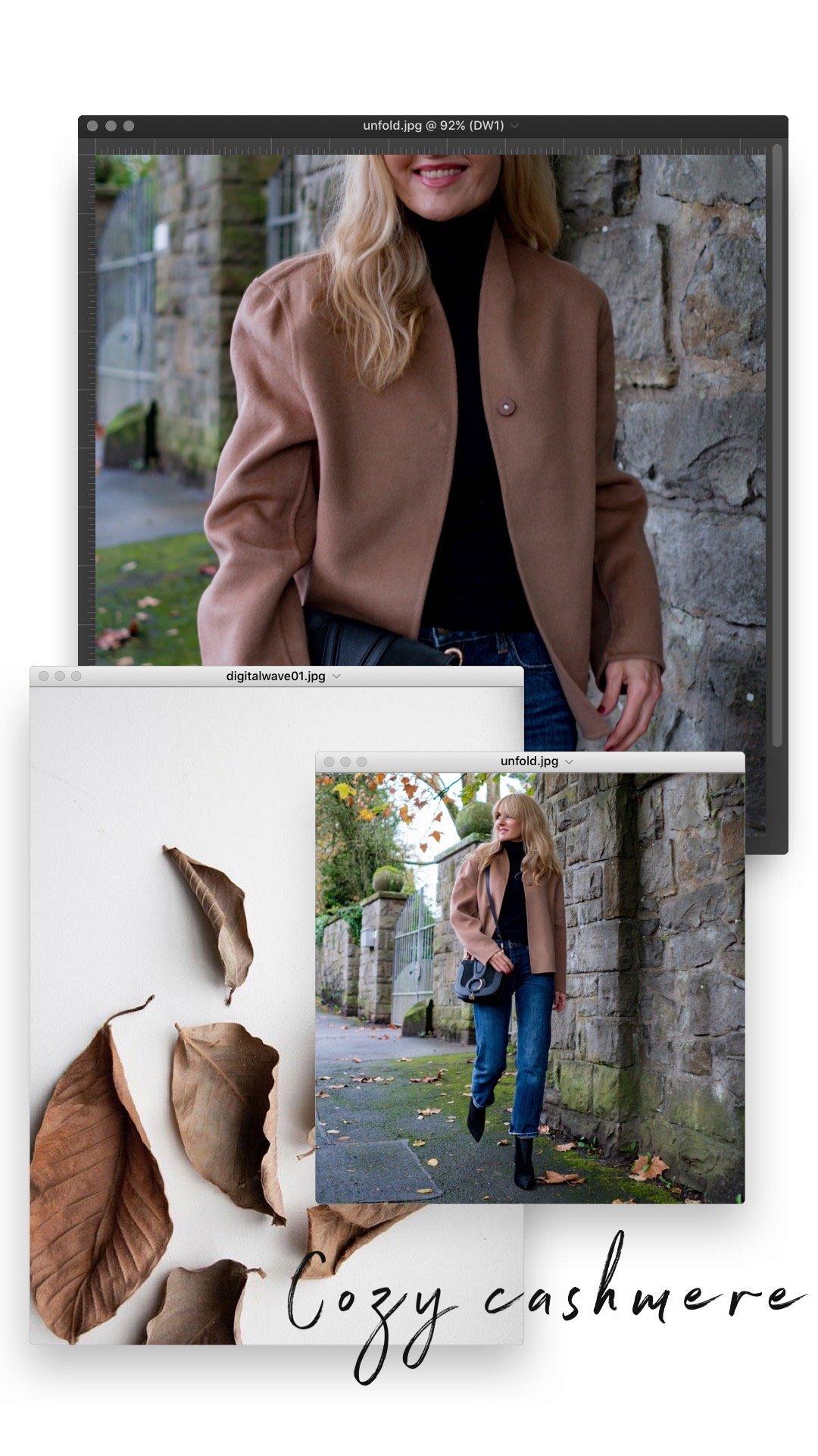 Herbstlook 2019 - Jacke aus Wolle & Kaschmir - Nowshine Modeblog ü40