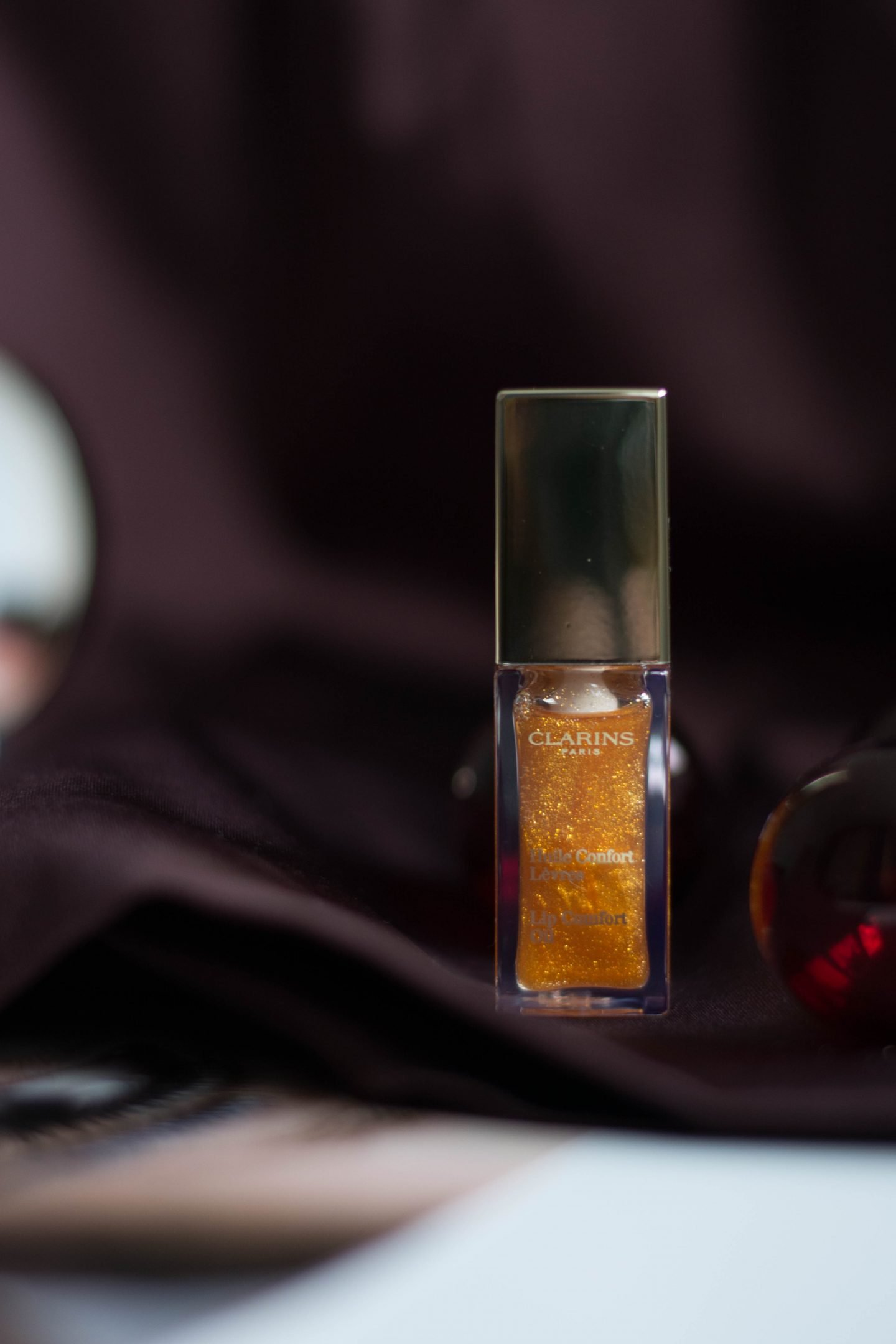 Golden Glitter, Honey Glam, Huile Confort Lèvres, Lippenöl, Lippenpflege, Glanz, Lipgloss, festlich, Gold