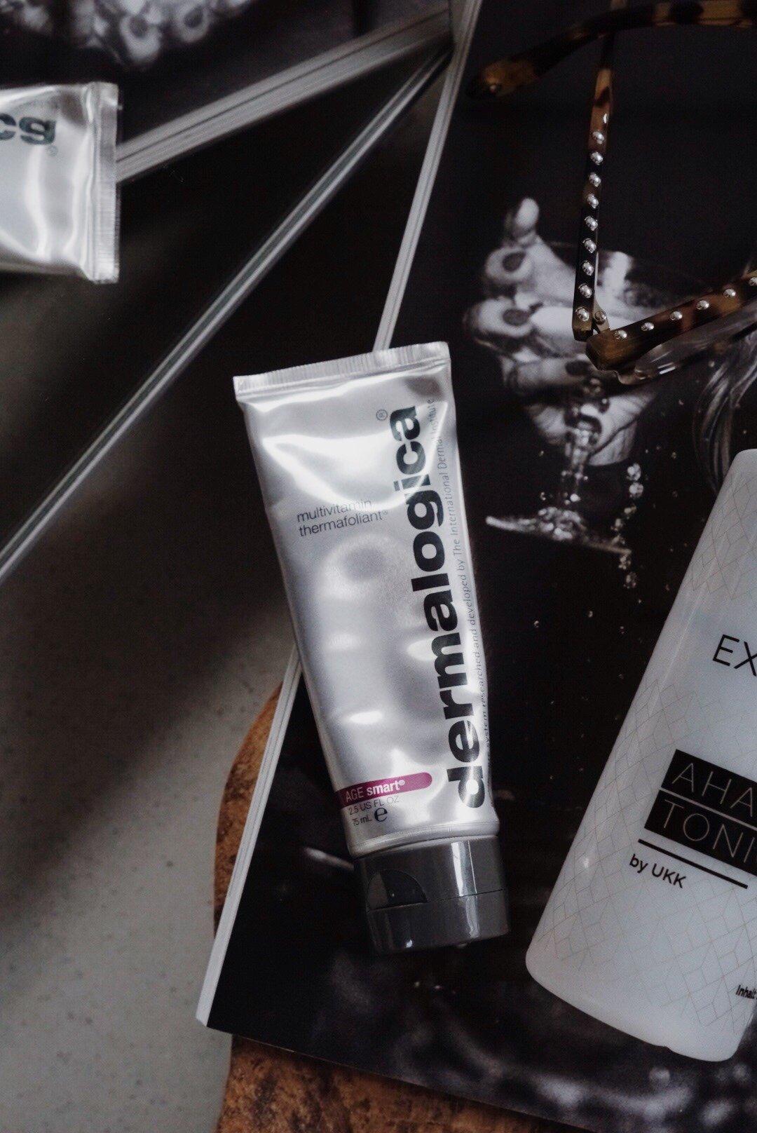 AHA und BHA Peeling - Fruchtsäure -Unterschiede - Tonic - Dermalogica Multivitamin Thermafoliant - Beauty Blog über 40