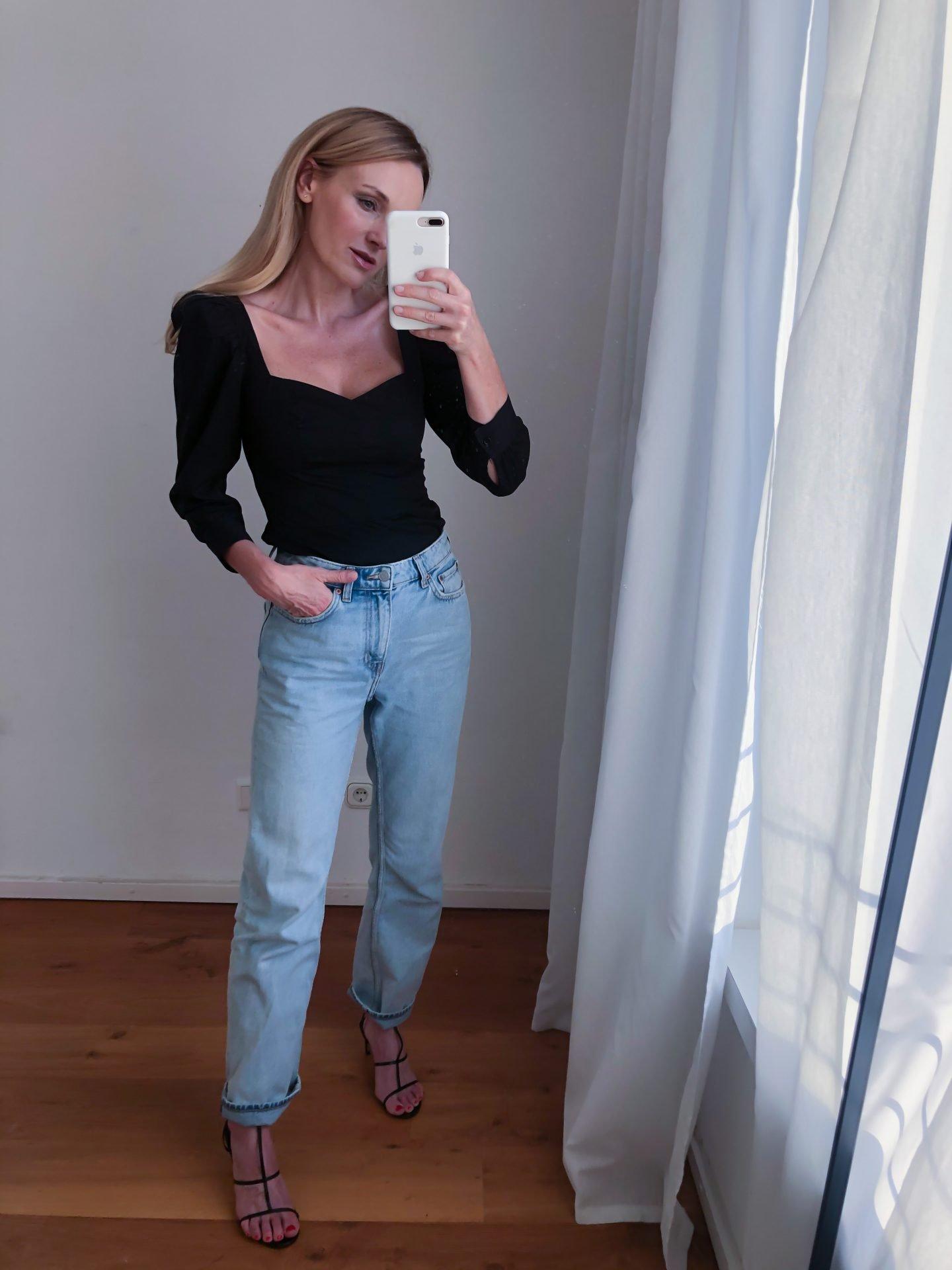 Wie-trage-ich-Denim-zum-Dinner-Nowshine-Modeblog-ü40