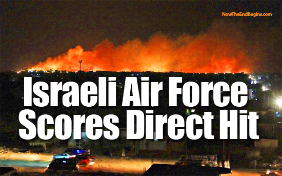 Israeli Air Force Wipes Out Sudanese Factory Making Iranian Shehab Missiles