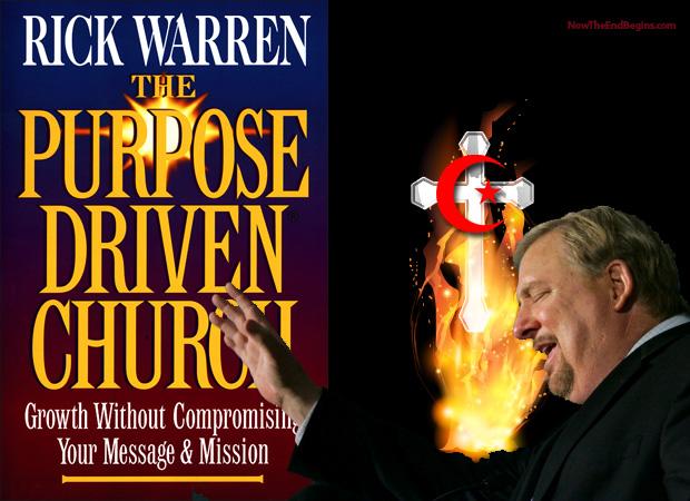 -la vida-iglesia impulsada por rick-Warren-Chrislam de uso-CFR-engañador de falso profeta