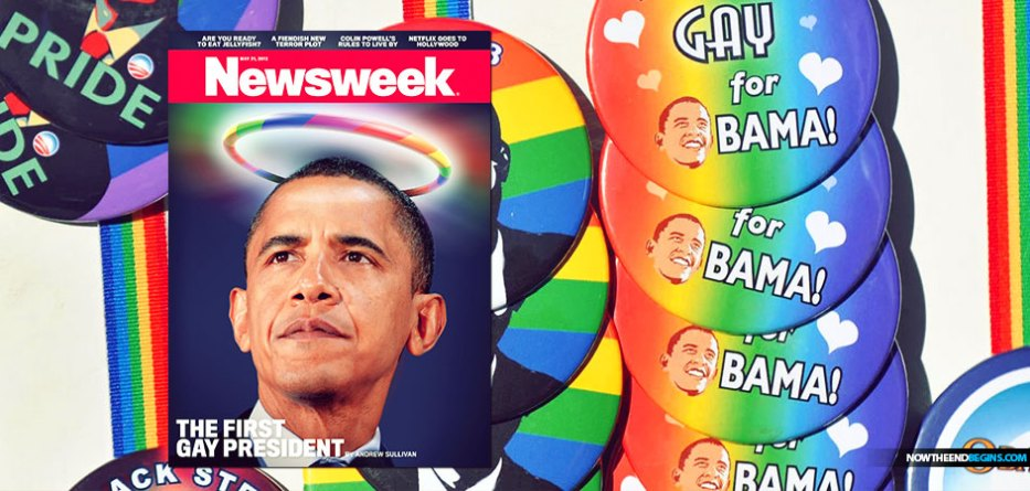 Newsweek Cover: 'The First Gay President'