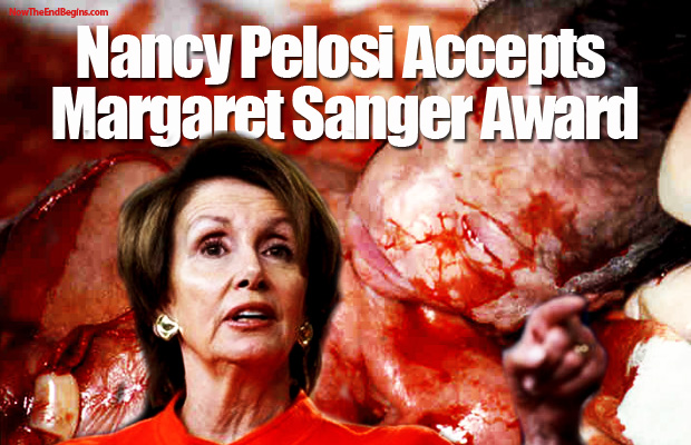 nancy-pelosi-accepts-margaret-sanger-award-for-promoting-abortion-planned-parenthood