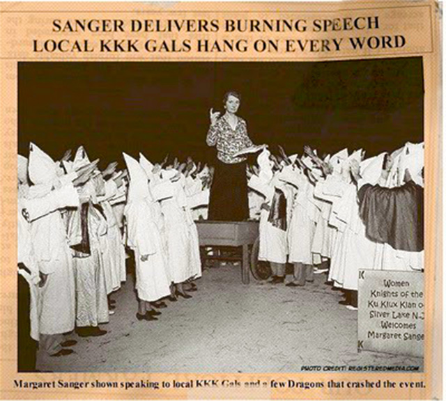 margaret-sanger-delivers-speech-at-kkk-meeting-1926-silver-lake-new-jersey-ku-klux-klan-planned-parenthood-abortion